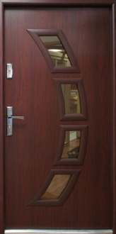 Seattle Quot Steel Modern Front Entry Door With Glass Low