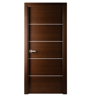 Mia Modern Interior Door Wenge Finish