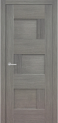 """Dominika "" Modern Interior Door Grey Ash Finish"