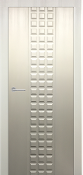 """Prima Lux"" Satin White Finish Transitional Style Interior Door"