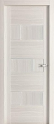 """Dominika "" Modern Interior Door Pearl White Finish"