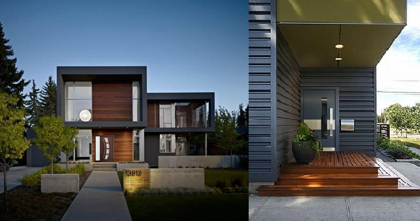 Buy Modern And Contemporary Mahogany Wood Exterior Doors For Your
