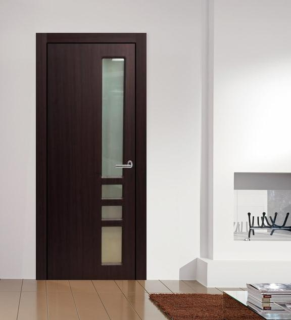 Verona Contemporary Interior Door Mahogany Finish W Frosted Gl & Modern Interior Door Handles - Photos Wall and Door Tinfishclematis.Com